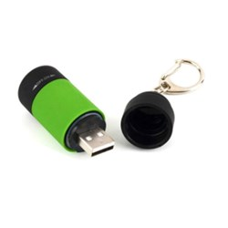 Porte-clés mini lampe  LED rechargeable USB